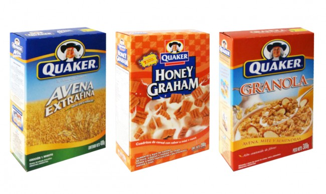 Diseño de Packs Quaker